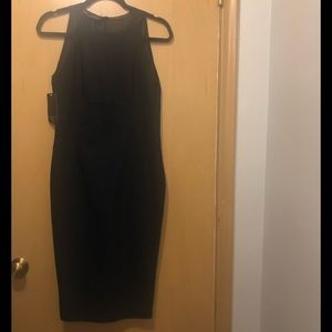 Zara black midi dress size M! New